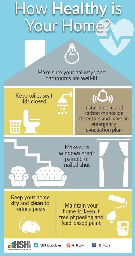 Home health and safety tips